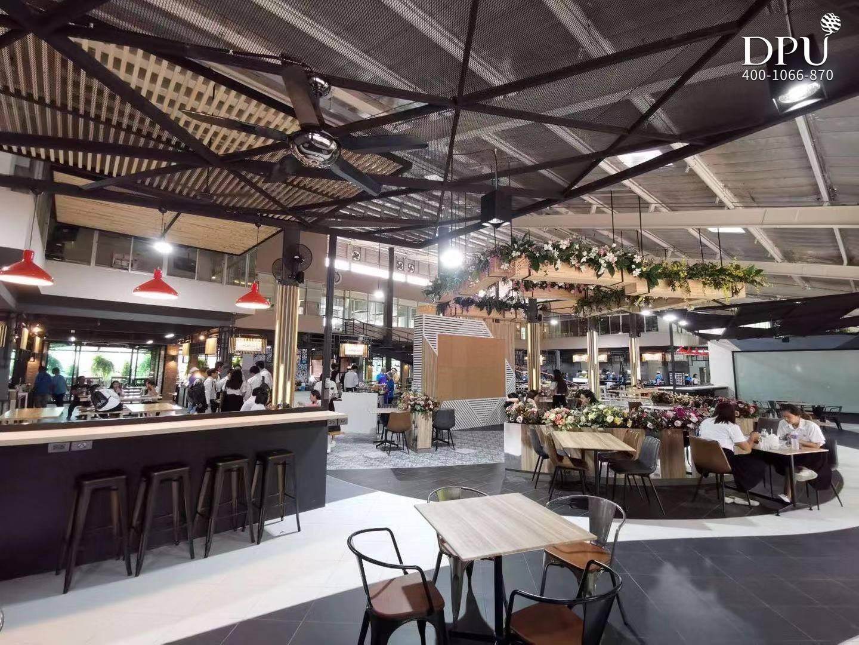博仁大学餐厅、食堂、美食广场
