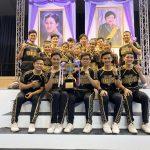 庆祝博仁大学拉拉队在2019届泰国国家拉拉队锦标赛上获奖