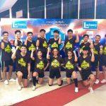 泰国国家拉拉队锦标赛博仁大学拉拉队参赛现场