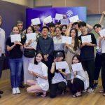 欢迎韩国东州大学的学生来博仁大学游学活动