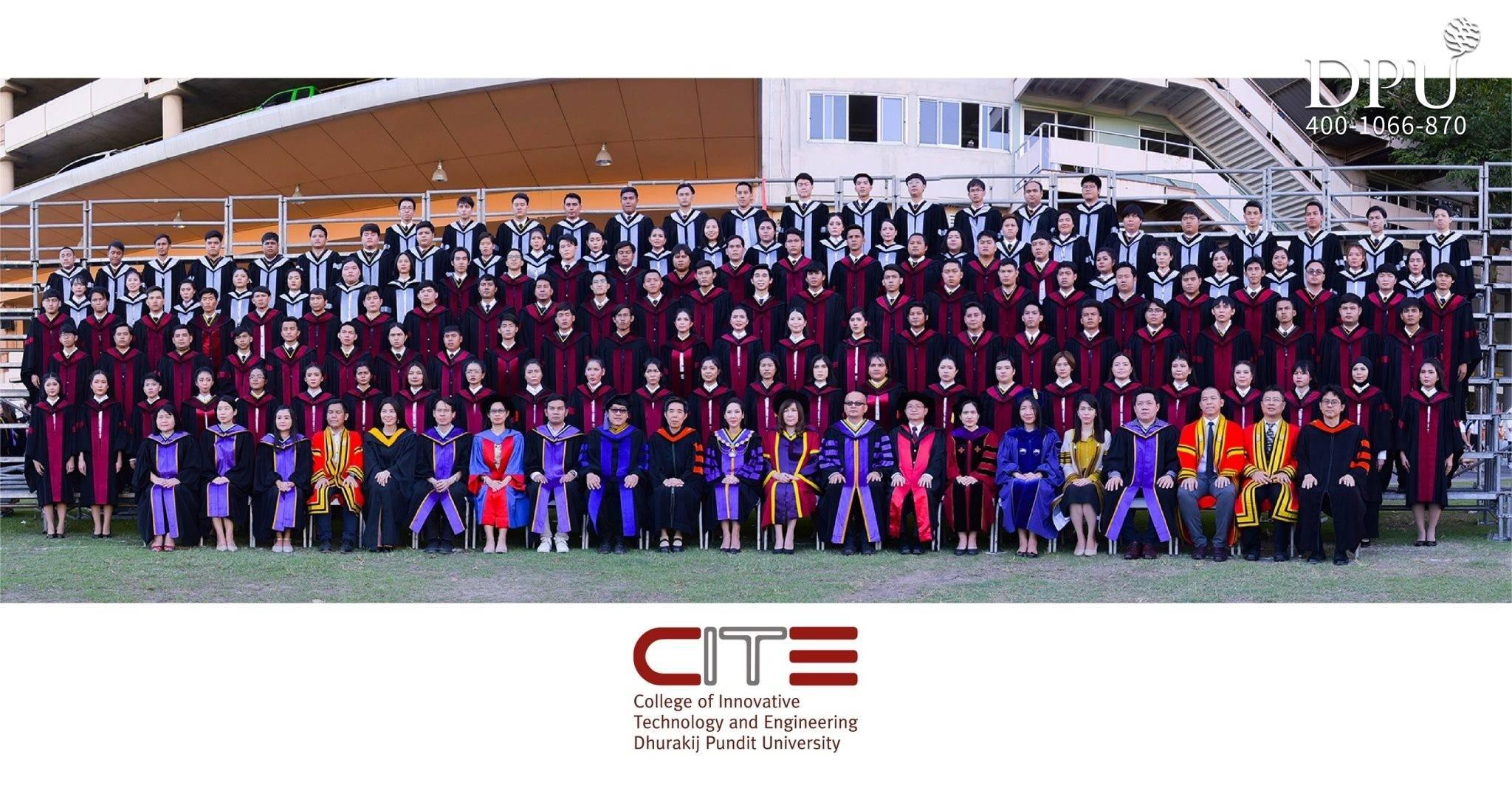 博仁大学2020年2月毕业照片