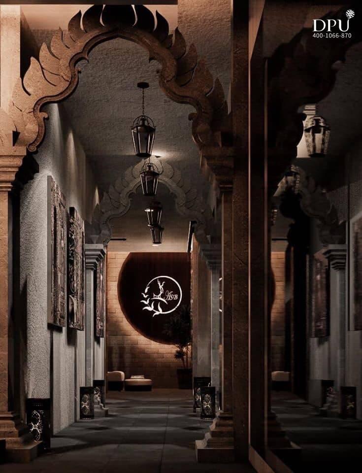 博仁大学柬埔寨留学生的室内设计作品8