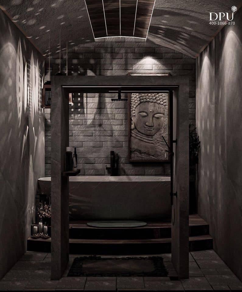 博仁大学柬埔寨留学生的室内设计作品9