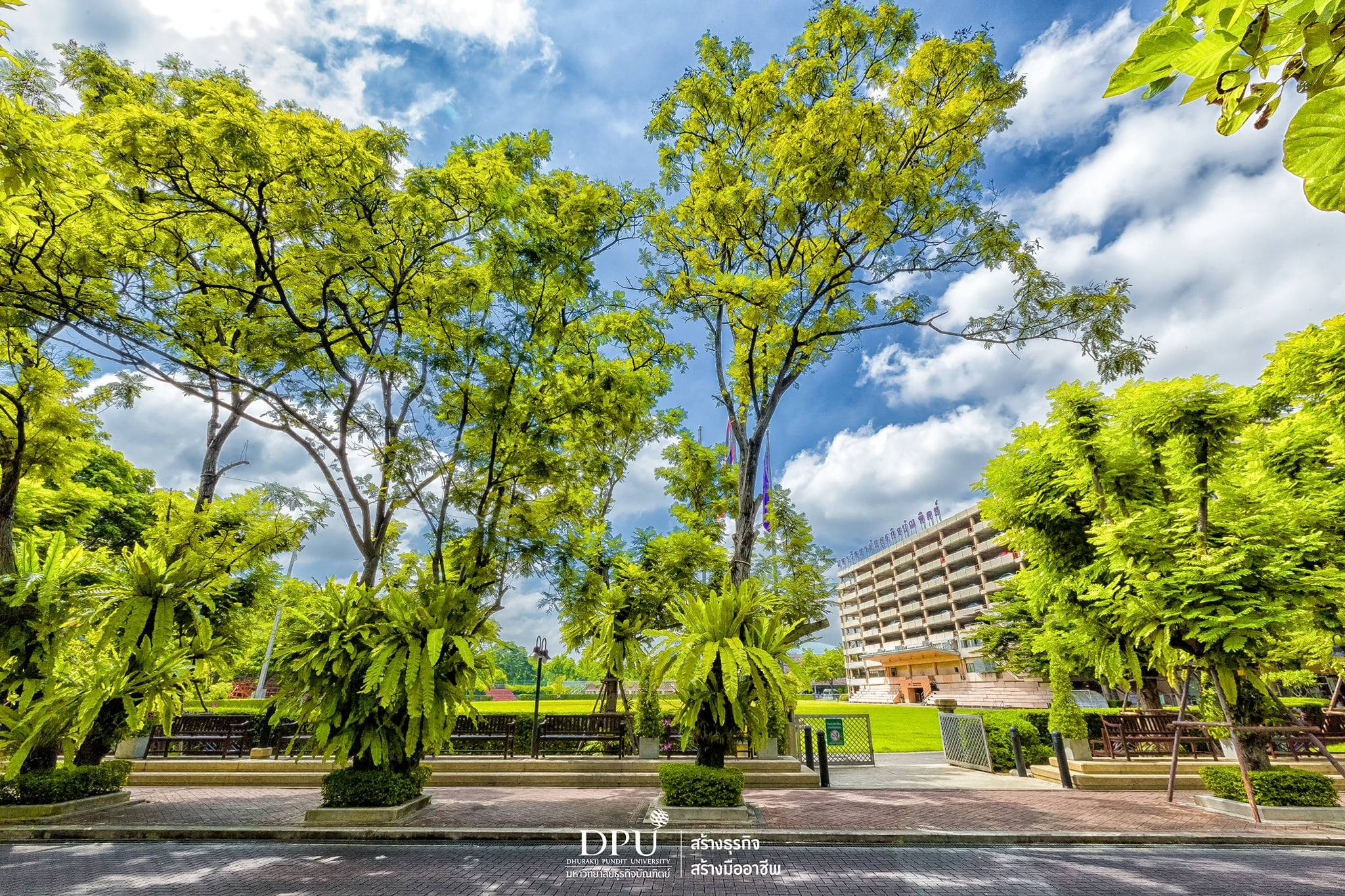 泰国博仁大学图片