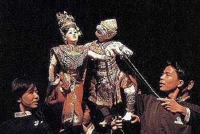泰国的木偶戏