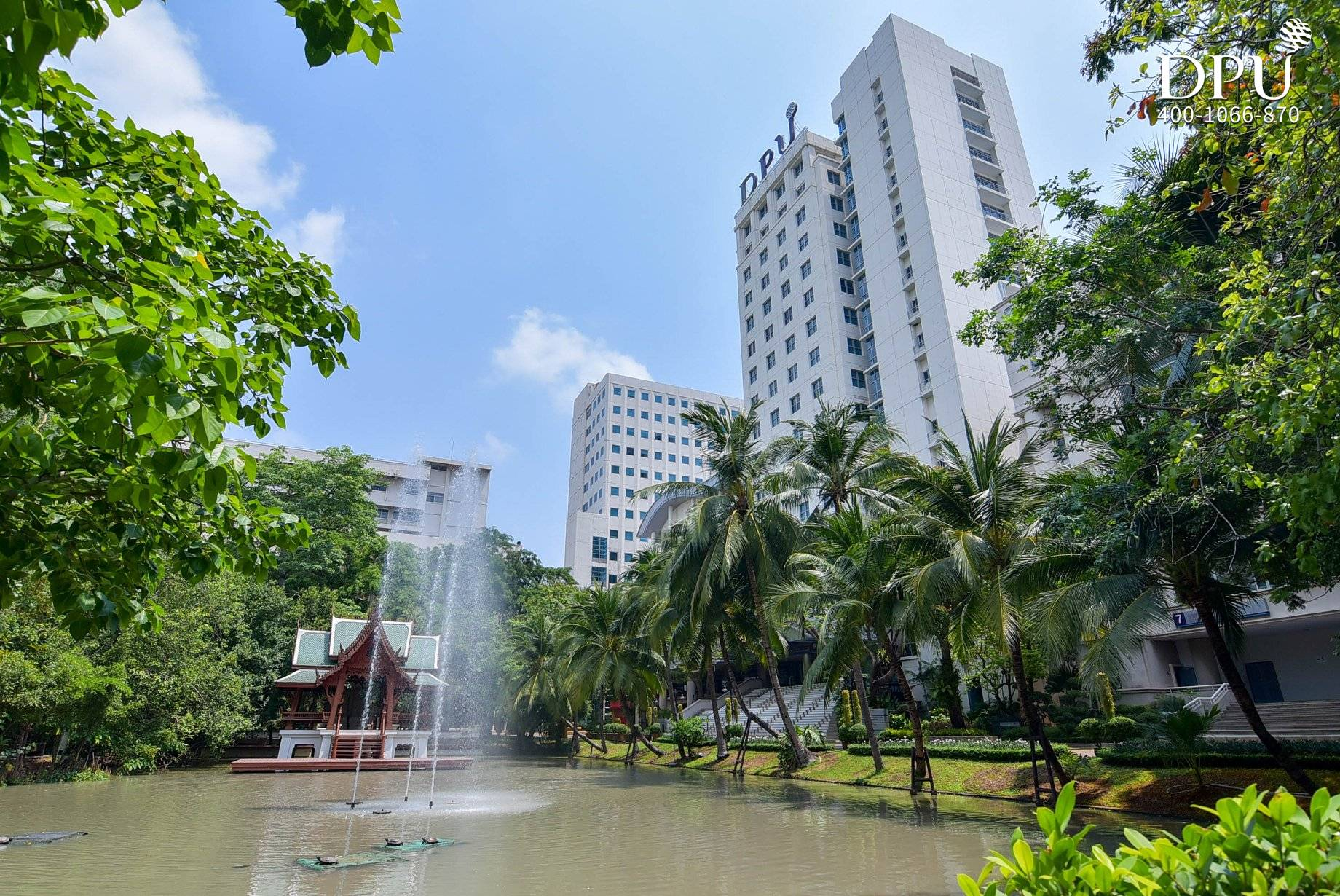 泰国博仁大学绿色校园