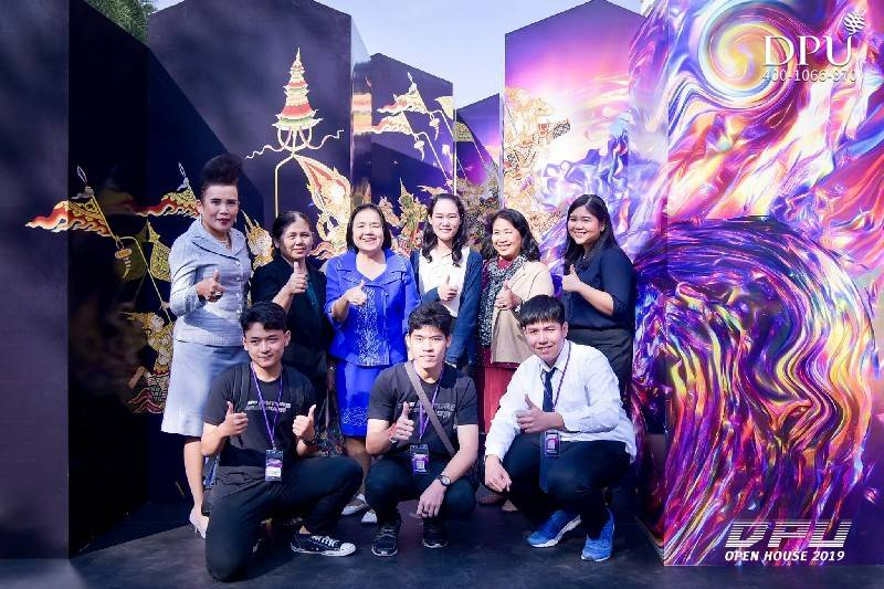 泰国博仁大学校园开放日 DPU Open House 2019