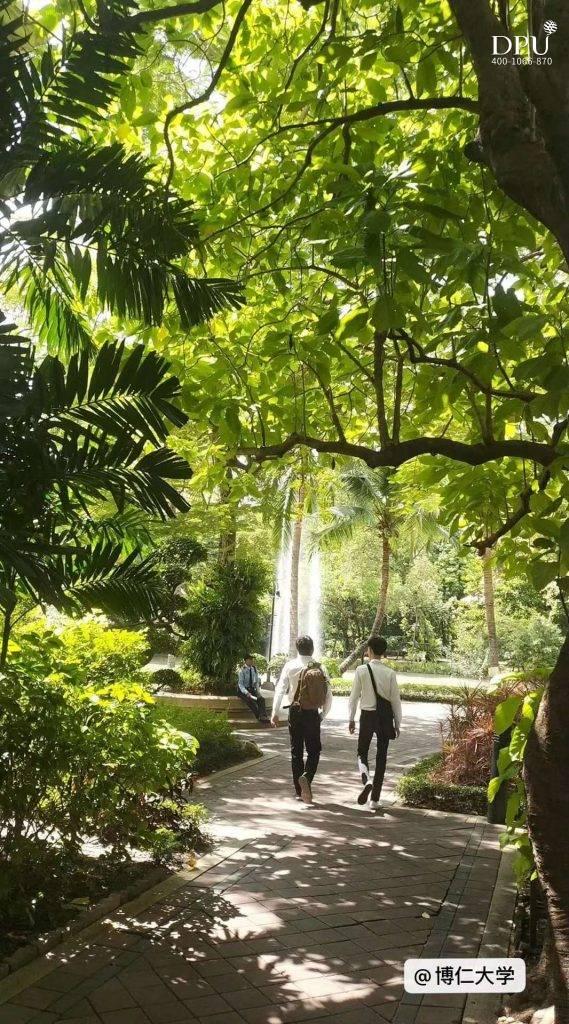 泰国博仁大学校园风景
