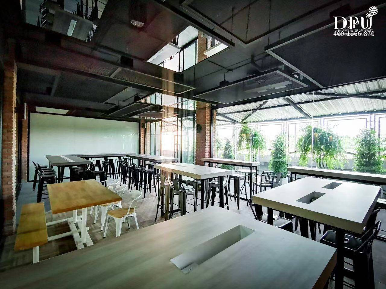 泰国博仁大学食堂、餐厅、美食广场