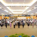 泰国博仁大学CIBA学院开学典礼迎新活动