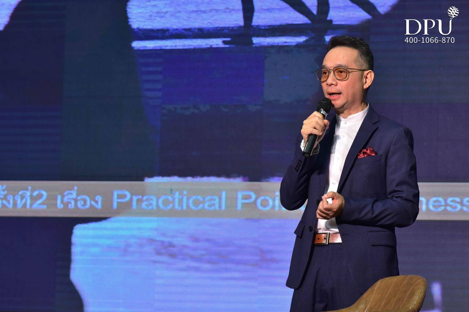 泰国水疗协会主席Khun Krod Rojanasathian