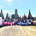 泰国博仁大学和泰国旅游局组织学生参观大城府