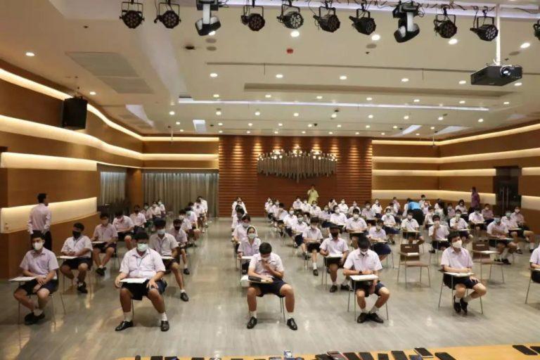 海上丝路孔子学院今年首场HSK线下考试完美收官