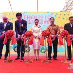 博仁大学代表参加2021年上海泰国节日开幕式
