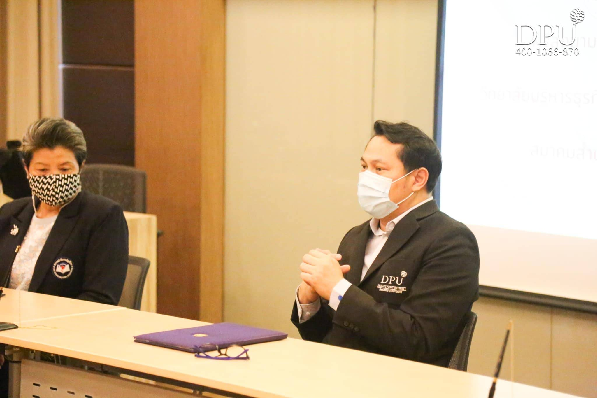 博仁大学CIBA学院与泰国会计师协会签署合作备忘录