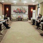 泰国博仁大学代表团一行回访郑州财经学院