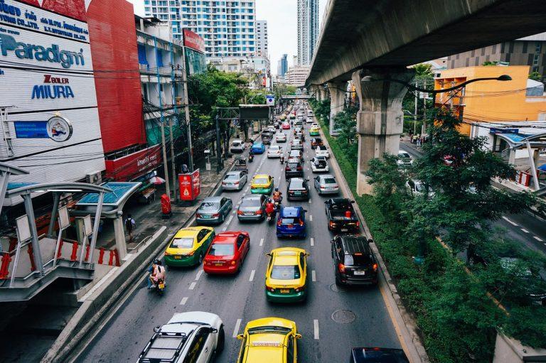 泰国曼谷路面交通