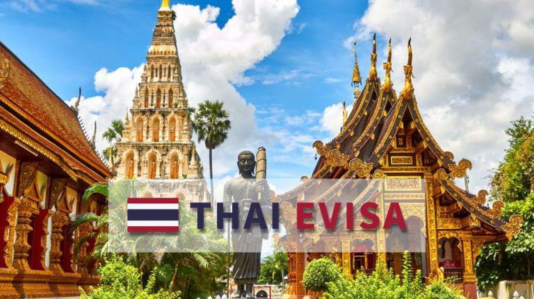 泰国无贴纸-电子签证