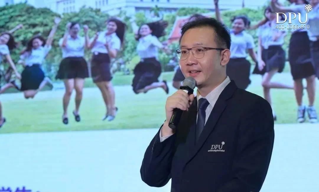 博仁大学中文国际学院(CIC)院长游翔老师